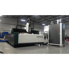 Лазерный станок для резки по металлу FIBER TS 1530 B 1000 Вт (сварная станина)