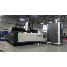 Лазерный станок по металлу FIBER TS 1530 B 1500 Вт (сварная станина)