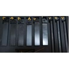 Набор резцов с мех.креплением пластин с покрытием, сечение 25х25 мм, 9 шт. - компания СтанГрупп (Stangroup)