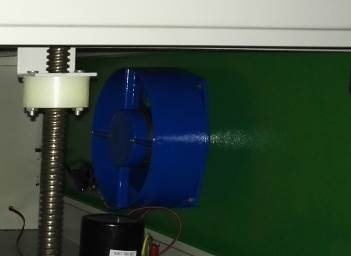 Вытяжной вентилятор лазера Z4060